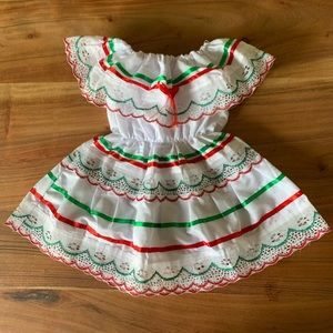 Little Traditional Mexican dress for 1-2 year old